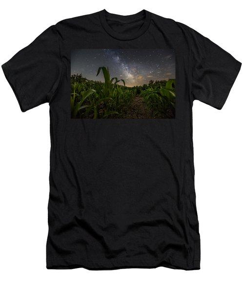 Iowa Corn Men's T-Shirt (Athletic Fit)