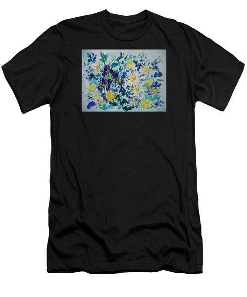 Iris Bouquet Men's T-Shirt (Athletic Fit)