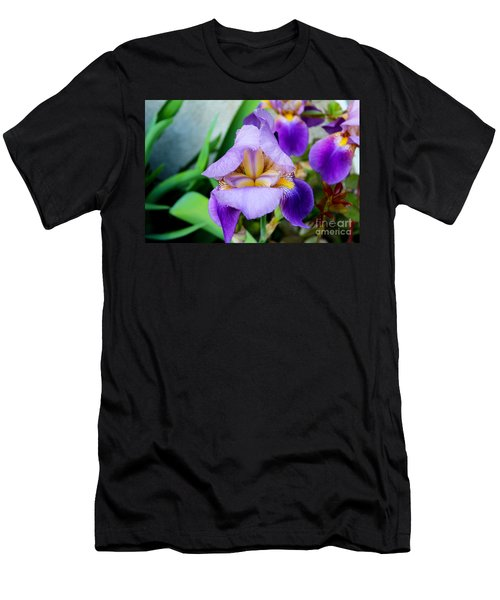 Iris From The Garden Men's T-Shirt (Athletic Fit)