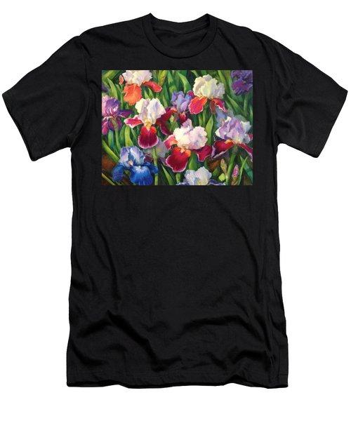 Irises2 Men's T-Shirt (Athletic Fit)