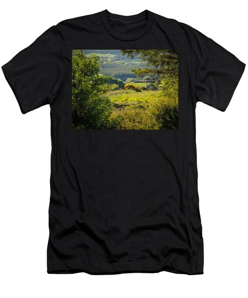 Irish Countryside In Spring Men's T-Shirt (Athletic Fit)