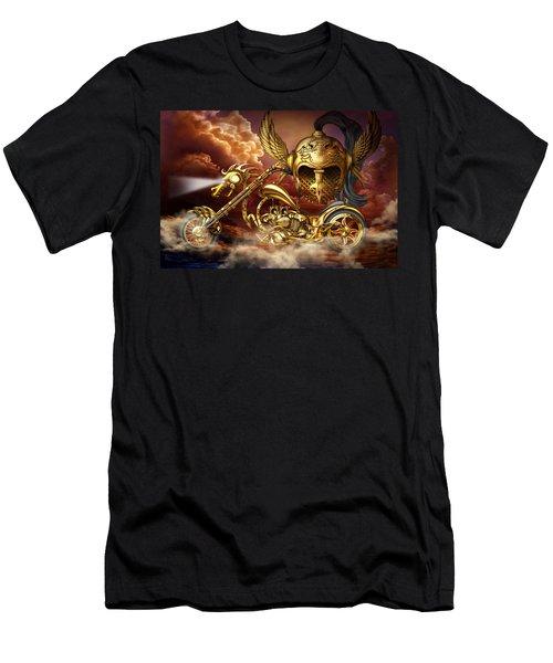 Iron Dragon Men's T-Shirt (Athletic Fit)