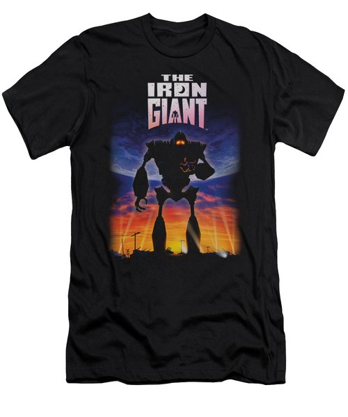 Iron Giant - Poster Men's T-Shirt (Athletic Fit)