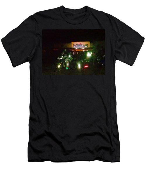 Iron Horse Lodge Evening Men's T-Shirt (Athletic Fit)