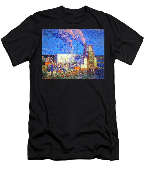 Irving Pulp Mill II Men's T-Shirt (Athletic Fit)