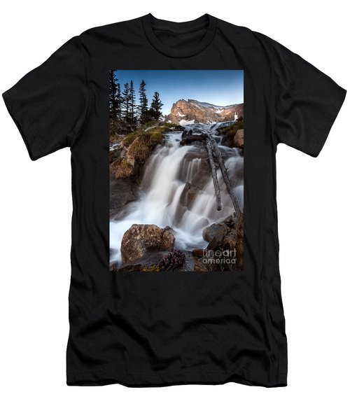 Isabelle Falls Men's T-Shirt (Slim Fit) by Steven Reed