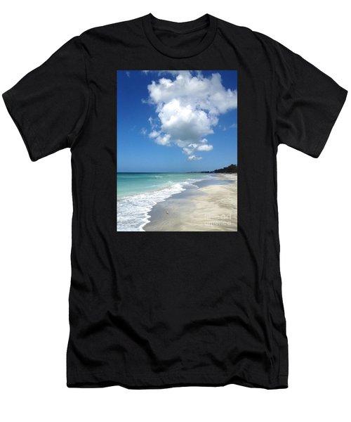 Island Escape  Men's T-Shirt (Athletic Fit)