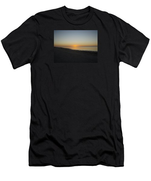 Men's T-Shirt (Slim Fit) featuring the photograph Island Sunset by Robert Nickologianis