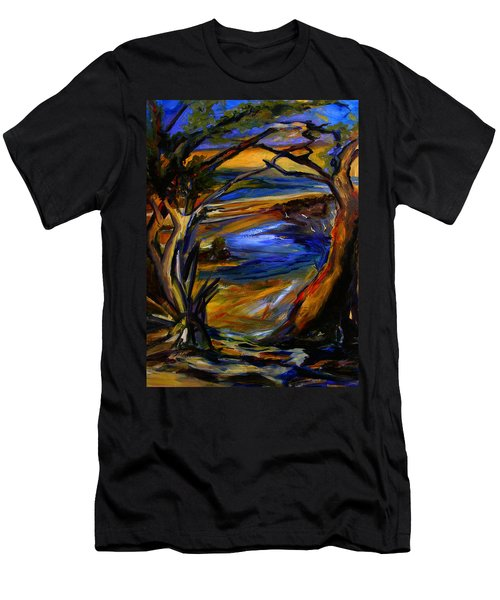 Island Waters St. Kitts Men's T-Shirt (Athletic Fit)