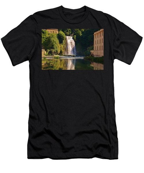 Isola Del Liri Falls Men's T-Shirt (Athletic Fit)