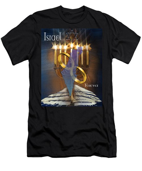 Israel Forever Men's T-Shirt (Athletic Fit)