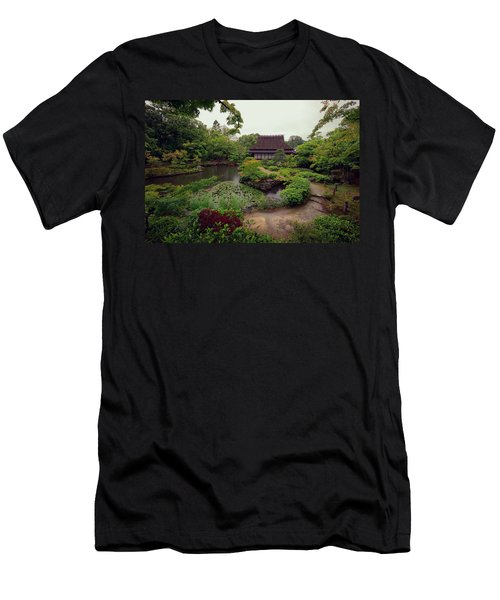 Isuien Garden Tea House - Nara Japan Men's T-Shirt (Athletic Fit)