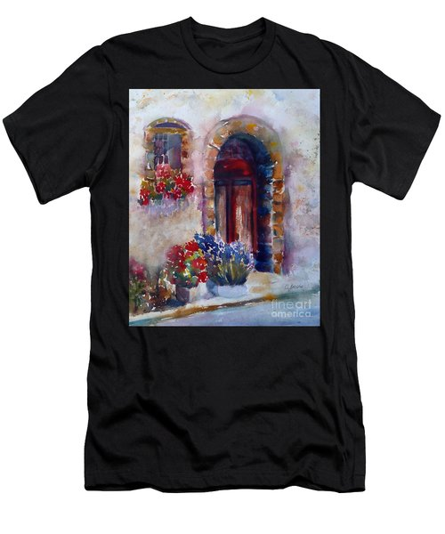 Italian Door Men's T-Shirt (Athletic Fit)