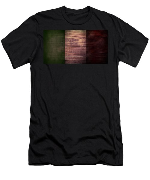 Italian Flag I Men's T-Shirt (Athletic Fit)