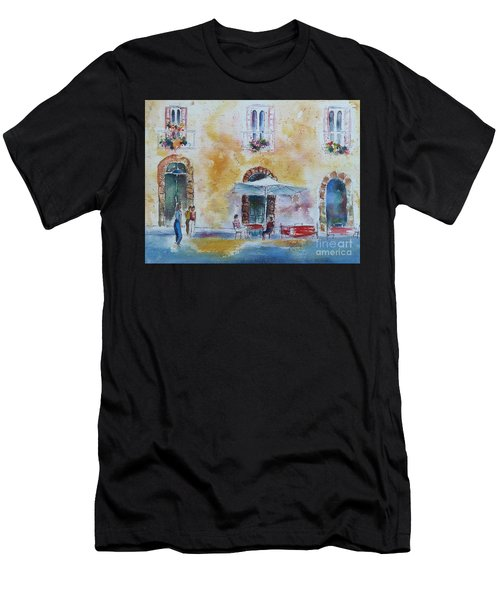 Italian Piazza Men's T-Shirt (Athletic Fit)