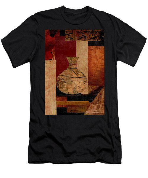 Italian Urn Collage Men's T-Shirt (Athletic Fit)