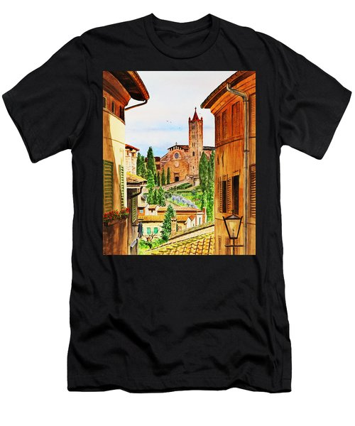 Italy Siena Men's T-Shirt (Athletic Fit)