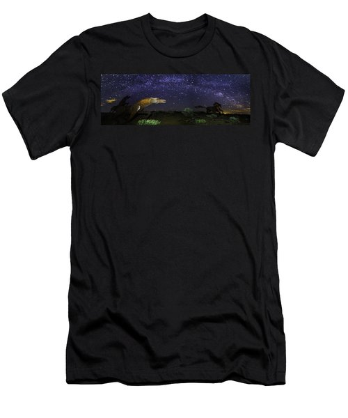 Its Made Of Stars Men's T-Shirt (Slim Fit) by James Heckt