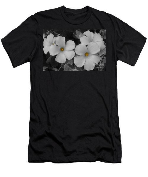 Its Not All Black And White Men's T-Shirt (Slim Fit) by Janice Westerberg