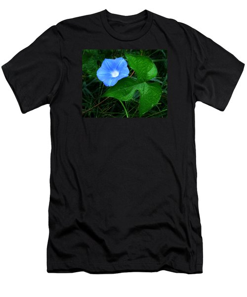 Wild Ivyleaf Morning Glory Men's T-Shirt (Slim Fit)