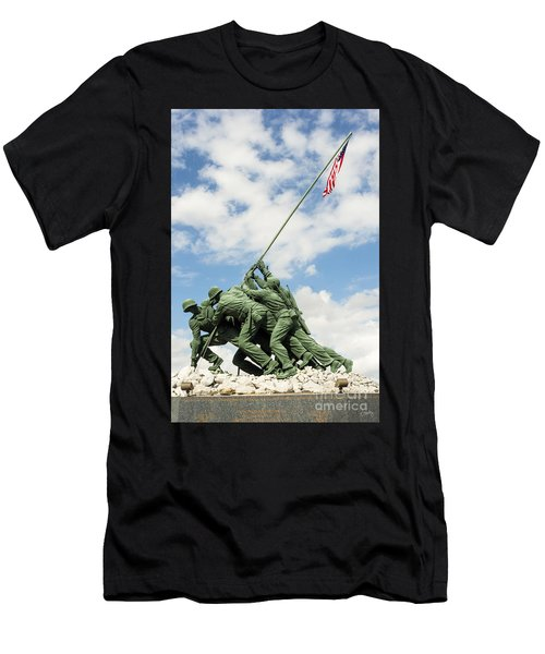 Iwo Jima Monument II Men's T-Shirt (Athletic Fit)
