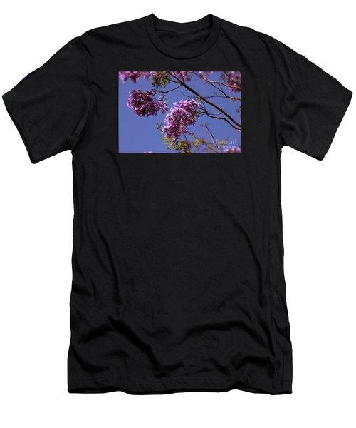 Jacaranda Blooms Men's T-Shirt (Athletic Fit)
