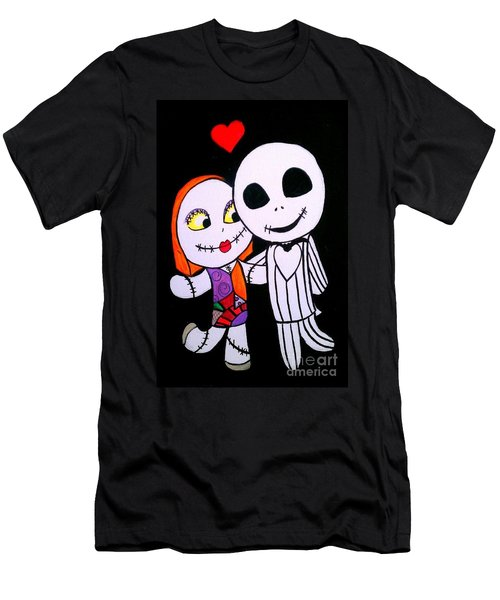 Jack And Sally Men's T-Shirt (Athletic Fit)