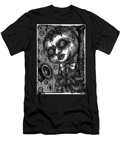 Jack O Lantern Men's T-Shirt (Slim Fit) by Akiko Okabe