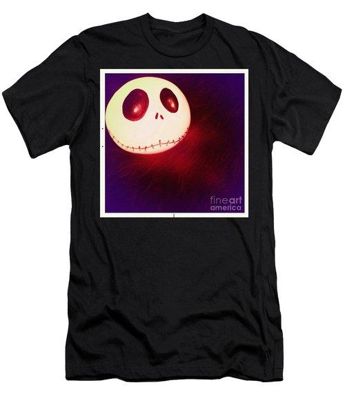 Jack Skellington Glowing Men's T-Shirt (Athletic Fit)