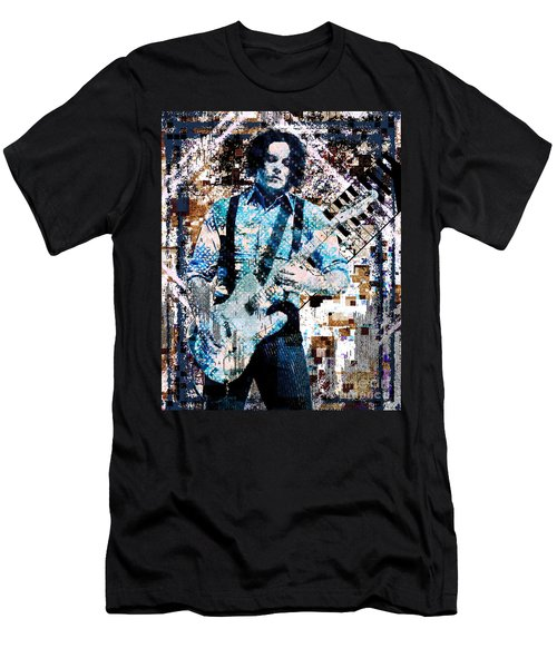 Jack White - Original Painting Art Print Men's T-Shirt (Athletic Fit)