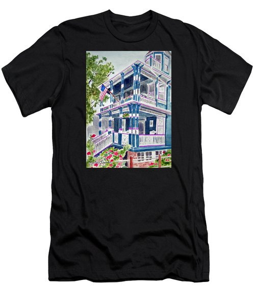 Jackson Street Inn Of Cape May Men's T-Shirt (Athletic Fit)