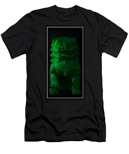 Men's T-Shirt (Slim Fit) featuring the digital art Jade... by Tim Fillingim