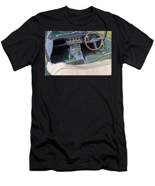 Jaguar E-type Series 1 Men's T-Shirt (Slim Fit) by Maj Seda