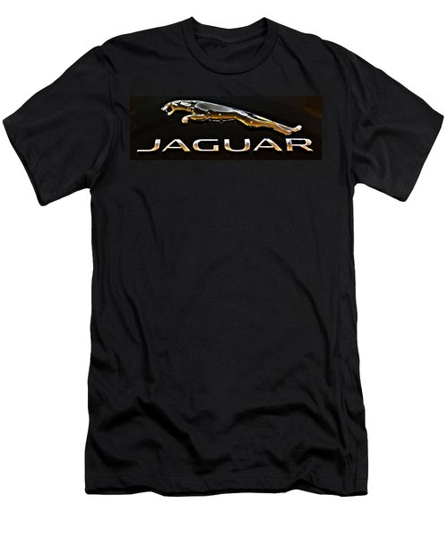 Jaguar Leaper F-type Spoiler Men's T-Shirt (Athletic Fit)
