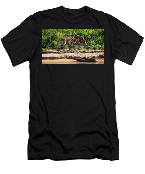 Jaguar River Walk Men's T-Shirt (Athletic Fit)