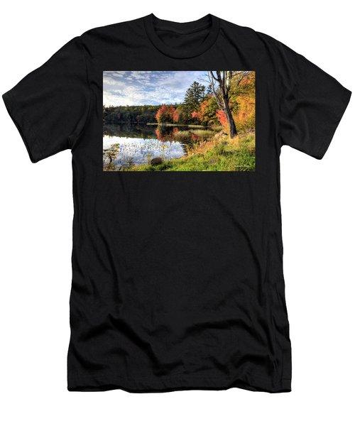 Jamie's Pond Men's T-Shirt (Athletic Fit)