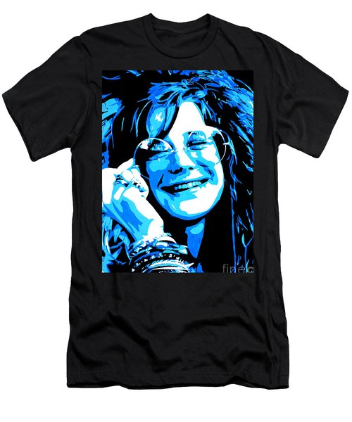 Janis Joplin. Men's T-Shirt (Athletic Fit)