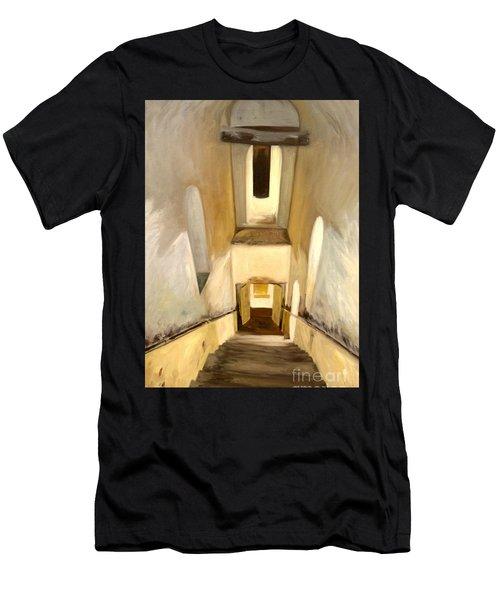 Jantar Mantar Staircase Men's T-Shirt (Athletic Fit)