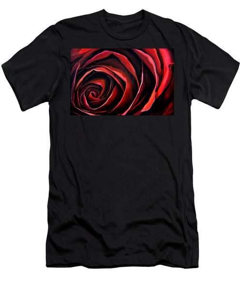 January Rose Men's T-Shirt (Athletic Fit)