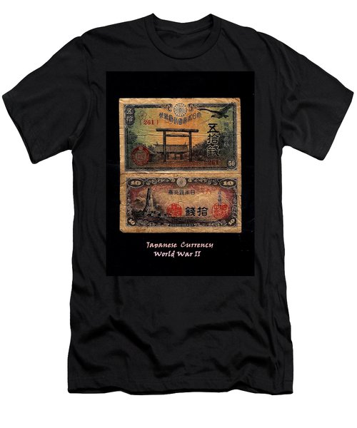 Japanese Currency From World War II Men's T-Shirt (Athletic Fit)