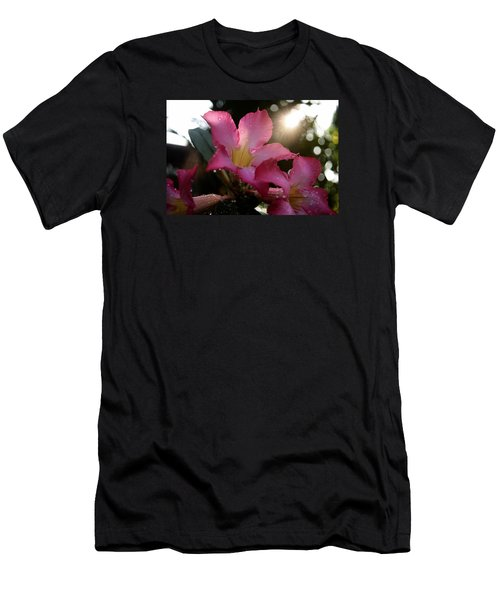 Men's T-Shirt (Slim Fit) featuring the photograph Jardin Du Matin by Miguel Winterpacht
