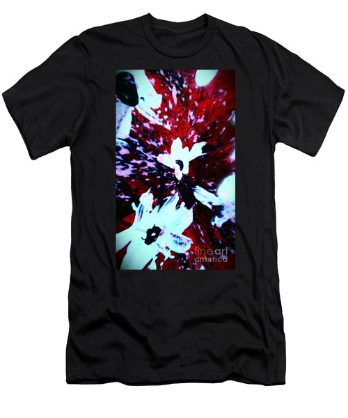 Men's T-Shirt (Slim Fit) featuring the painting Jasmine In My Mind  by Jacqueline McReynolds