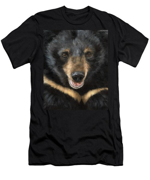 Jasper Moon Bear - In Support Of Animals Asia Men's T-Shirt (Athletic Fit)