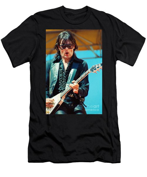 Jay Geils Of The J Geils Band- Day On The Green July 4th 1979 Men's T-Shirt (Athletic Fit)