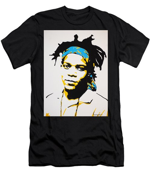 Jean-michel Basquiat Men's T-Shirt (Athletic Fit)