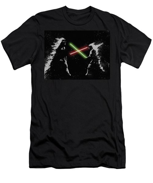 Jedi Duel Men's T-Shirt (Athletic Fit)