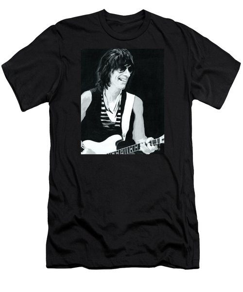 Jeff Beck-emotion And Commotions Men's T-Shirt (Athletic Fit)