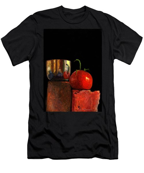 Jefferson Cup With Tomato And Sedona Bricks Men's T-Shirt (Athletic Fit)