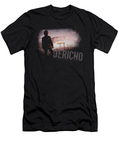 Jericho - Mushroom Cloud Men's T-Shirt (Athletic Fit)