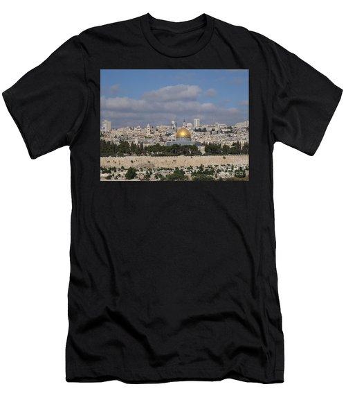 Jerusalem Old City Men's T-Shirt (Athletic Fit)